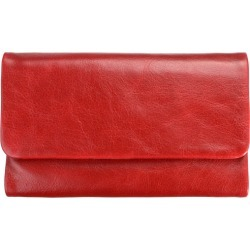 Audrey leather wallet in red found on Bargain Bro from hardtofind.com.au for USD $62.49