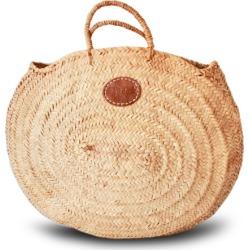 Oval rustic basket