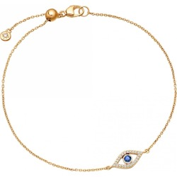Astley Clarke - Evil Eye Fine Biography Sapphire Bracelet found on MODAPINS from Wolf & Badger US for USD $823.00