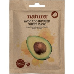 natura - Avocado Sheet Mask found on Makeup Collection from Wolf and Badger for GBP 5.12