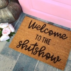 Welcome To The ShitShow - Funny Doormat found on Bargain Bro Philippines from hardtofind.com.au for $38.51