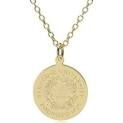 Syracuse 14K Gold Pendant and Chain