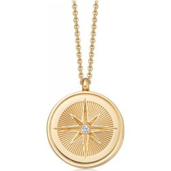 Astley Clarke - Celestial Compass Locket Necklace found on MODAPINS from Wolf & Badger US for USD $324.00