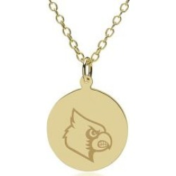 Louisville 14K Gold Pendant and Chain