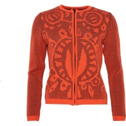 Liisa Soolepp - Cardigan Wanda In Paprika Red found on Bargain Bro from Wolf & Badger US for USD $177.08