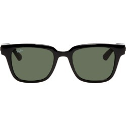 Ray-Ban Black Acetate Square Sunglasses