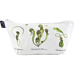 Wilful Ink - Carnivorous Plants Botanical Make Up Bag found on Bargain Bro UK from Wolf and Badger