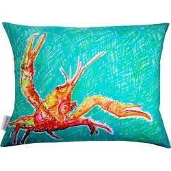 Chloe Croft - Lucky Lobster Cushion