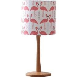 Rosa & Clara Designs - Flamingo Flourish Lampshade White Small found on Bargain Bro UK from Wolf and Badger