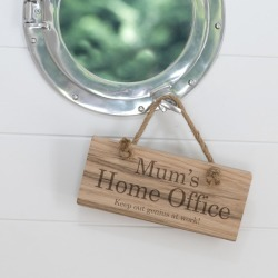Home Working Sign