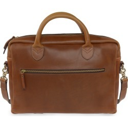 VIDA VIDA - Luxe Tan Leather Laptop Bag found on MODAPINS from Wolf & Badger US for USD $261.00
