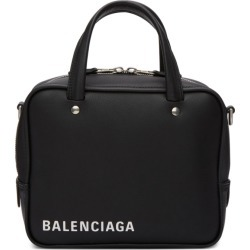 Balenciaga Black XS Triangle Square Bag