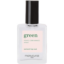 Manucurist - Green Nail Lacquer - Natural Top Coat found on Makeup Collection from Wolf and Badger for GBP 12.47