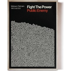 Reign & Hail - Fight The Power - Song Lyric Print