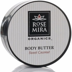 Rosemira Organics - Sweet Coconut Body Butter found on Makeup Collection from Wolf and Badger for GBP 102.71