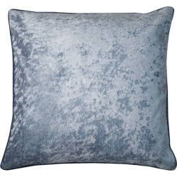 Bivain - Sapphire and Light Blue Velvet Cushion
