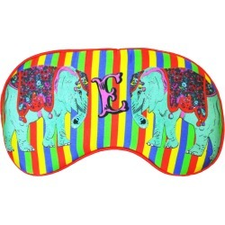 Jessica Russell Flint - E For Elephants Silk Eye Mask In Gift Box found on Bargain Bro UK from Wolf and Badger