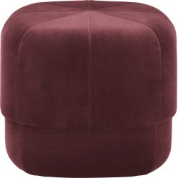 Circus Pouf Velour Dark Red, Small found on Bargain Bro UK from Clippings