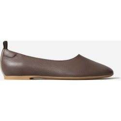 Women's Ballet Flat by Everlane in Chocolate, Size 6.5
