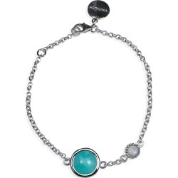 Vintouch Italy - Satellite Sterling Silver Amazonite & Opal Bracelet found on Bargain Bro India from Wolf & Badger US for $74.00