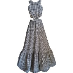 Mirimalist - Xperimential 2 In1 Maxi Dress Gingham