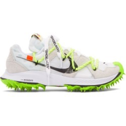 Nike: White Off-White Edition Zoom Terra Kiger 5 Sneakers | SSENSE found on Bargain Bro from  for $180