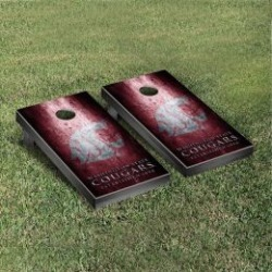 Washington State Cougars Cornhole Game Set Metallic-Look