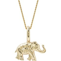 Katie Mullally - Elephant Rose Gold Plated Necklace found on MODAPINS from Wolf and Badger for USD $192.27