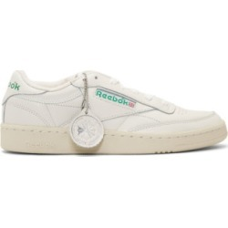 Reebok Classics: Off-White Club C 1985 Sneakers | SSENSE found on Bargain Bro from  for $95