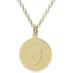 Rice University 14K Gold Pendant and Chain