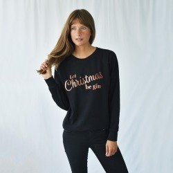 Let Christmas Be Gin Women's Christmas Jumper