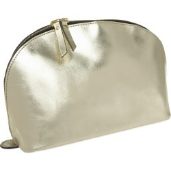 VIDA VIDA - Lunar Gold Leather Wash Bag found on Bargain Bro UK from Wolf and Badger