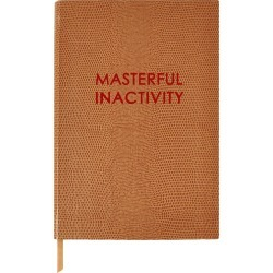 Sloane Stationery - Masterful Inactivity Small Notebook found on Bargain Bro India from Wolf & Badger US for $47.00