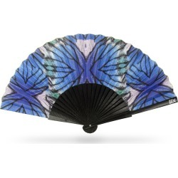 Khu Khu - Blue Lyca Hand-Fan found on Bargain Bro UK from Wolf and Badger