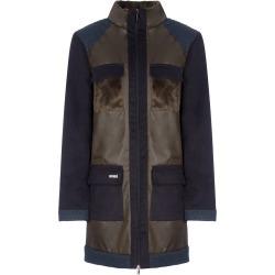 APPAREAL - Ygrette Multi-Texture Coat