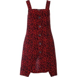 L2R THE LABEL - Minimal Dress In Red Leopard Print found on MODAPINS from Wolf & Badger US for USD $90.00