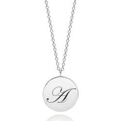 Myia Bonner - Sterling Silver Initial A Edwardian Pendant