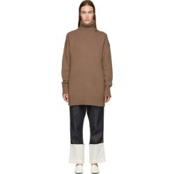 Joseph Brown Wool Oversized Turtleneck found on MODAPINS from ssense asia-pacific for USD $224.74