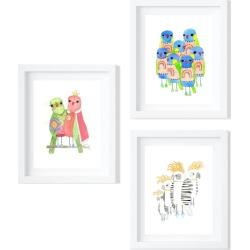Trio of Australian Birds - Limited Edition Fine Art Prints