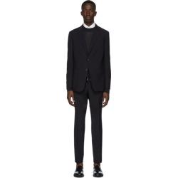 Z Zegna Black Merino Wash and Go Suit
