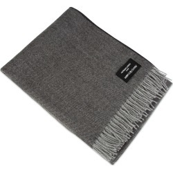 Heating & Plumbing London - Wonderfully Soft Merino Lambswool Throw Graphite found on Bargain Bro UK from Wolf and Badger