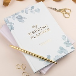 Wedding Planner Book In Eucalyptus