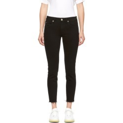 Amo Black Stix Crop Jeans found on MODAPINS from ssense asia-pacific for USD $187.16