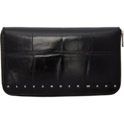 Alexander Wang Black Croc Dime Continental Wallet found on MODAPINS from ssense asia-pacific for USD $361.65