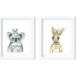 Koala and Kangaroo - Limited edition fine art prints
