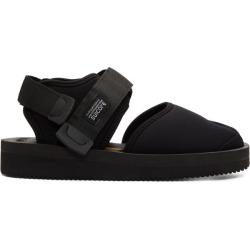 Suicoke Black Bita-V Sandals
