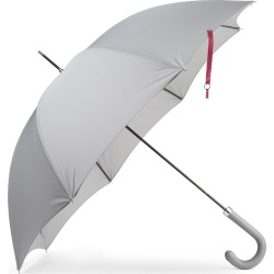 Heating & Plumbing London - British City Slim Umbrella Grey & Burgundy found on Bargain Bro UK from Wolf and Badger