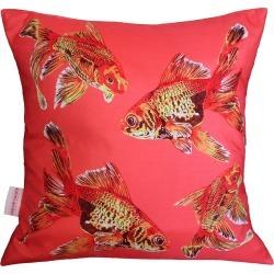 Chloe Croft London Limited - Goldfish Gaggle Cushion found on Bargain Bro UK from Wolf and Badger
