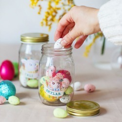 Personalised Easter Treat Jar found on Bargain Bro Philippines from hardtofind.com.au for $61.29