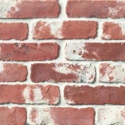 "Avondale 2"" x 8"" Antik Matte Brick Tile Used Red"